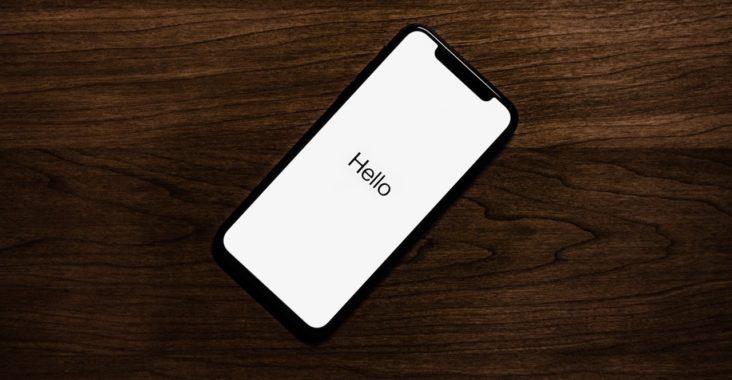iphone démarrage